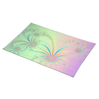 Spider Plant Fractal American MoJo Placemats