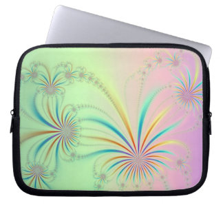 Spider Plant Fractal Laptop Sleeve