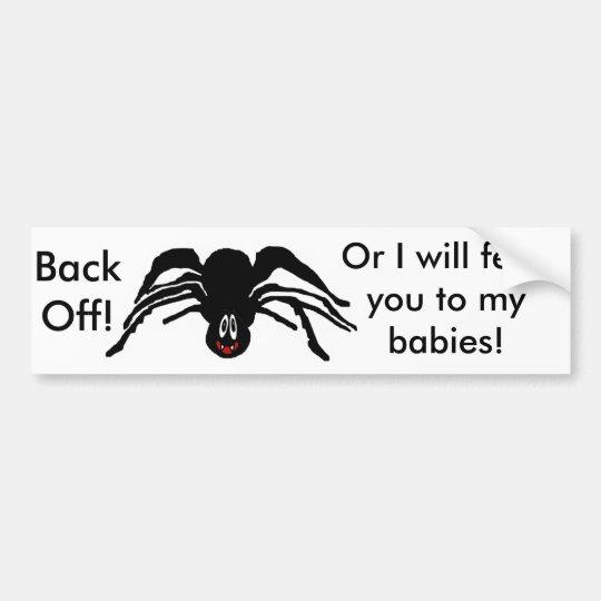 Spider Products Bumper Sticker