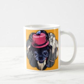 Spider Pug Basic White Mug