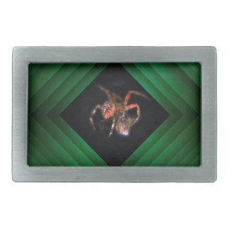 spider rectangular belt buckle