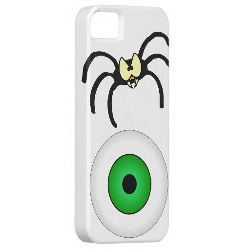 Spider Spooky October Fall Party Destiny Art iPhone 5 Case