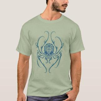 Spider Sugar Skull (blue) T-Shirt