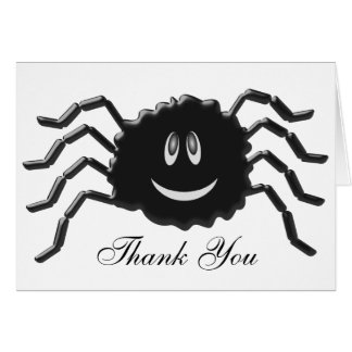 Spider Thank You Card