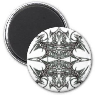 Spider Throne 6 Cm Round Magnet