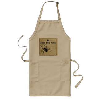Spider Tonic Water Halloween Apron