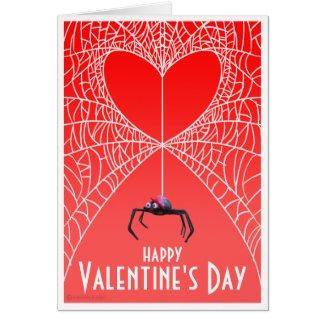 Spider Valentines Card