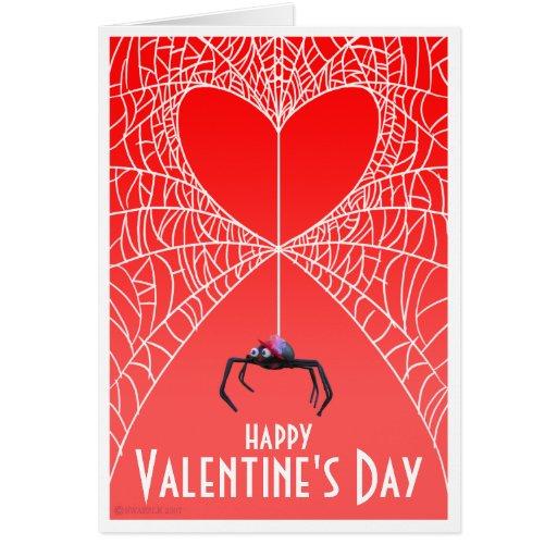 Spider Valentine's Day Card