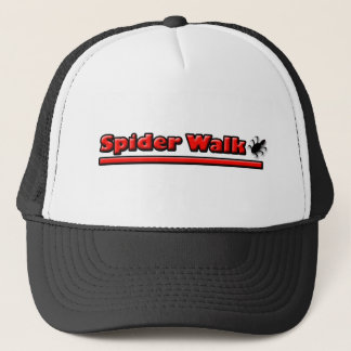 spider walk trucker hat