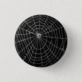 SPIDER WEB 3 CM ROUND BADGE