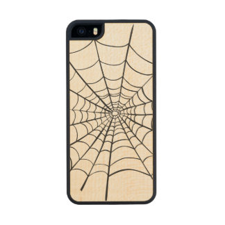 Spider Web Carved® Maple iPhone 5 Slim Case