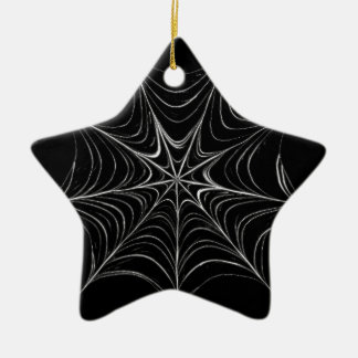 Spider Web Christmas Ornament
