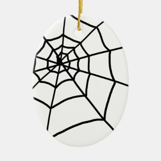 Spider Web Christmas Ornament