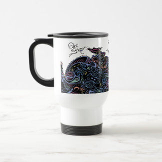 Spider Web Color Travel Mug