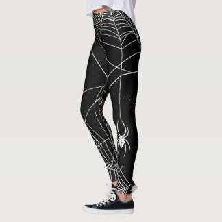 Spider Web Halloween Leggings