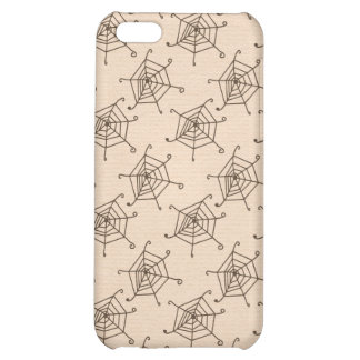 Spider Web Halloween Pattern Cover For iPhone 5C