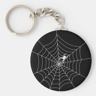Spider Web Key Ring