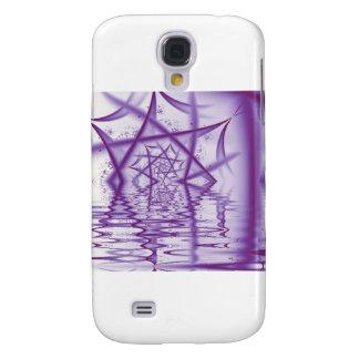 Spider Web Lake V4 Samsung Galaxy S4 Cases