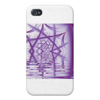 Spider Web Lake V4 Cover For iPhone 4