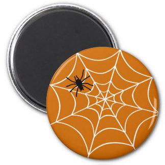 Spider Web Refrigerator Magnets