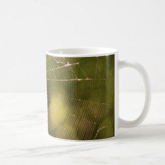 Spider Web Basic White Mug