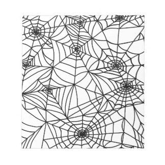 Spider Web Notepad