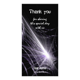 Spider Web Photo Greeting Card