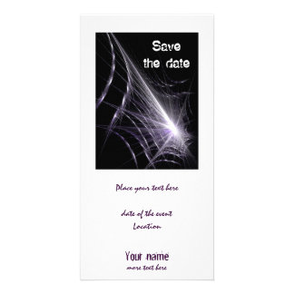 Spider Web Picture Card