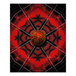 Spider Web Posters