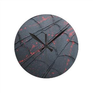Spider Web Round Clock