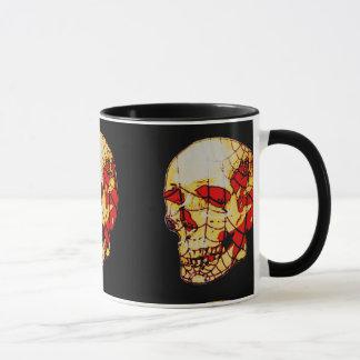Spider Web Skull Mug