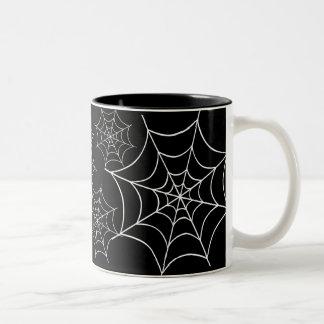 Spider Web Two-Tone Mug