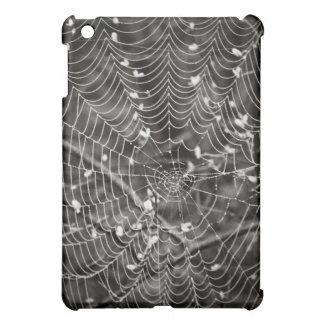 Spider Web with Dew Drops iPad Mini Cover