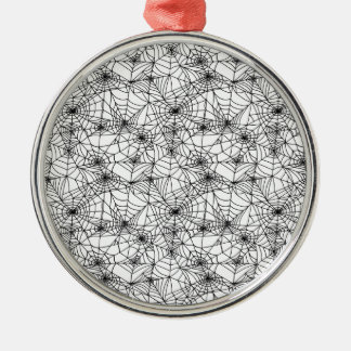 Spider Webs Christmas Ornament
