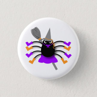 Spider Witch 3 Cm Round Badge
