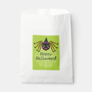 Spider Witch Halloween Party Favour Bags