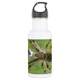 Spider with prey 532 ml water bottle