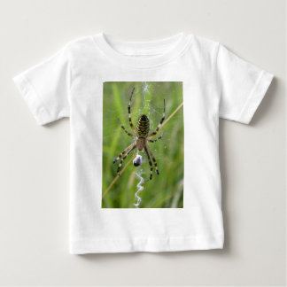 Spider with prey baby T-Shirt