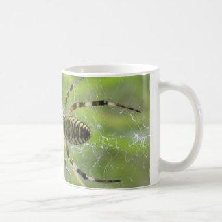 Spider with prey coffee mug