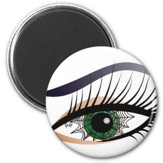 Spider woman/magnet 6 cm round magnet