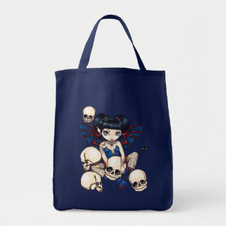 Spiders And Skulls gothic fairy Bag