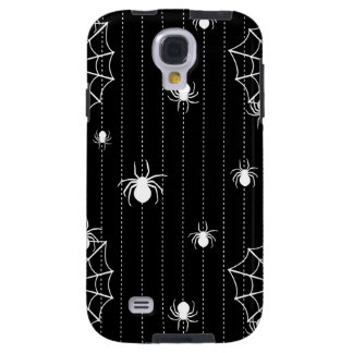 Spiders and web background galaxy s4 case