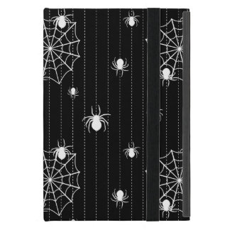 Spiders and web background iPad mini case