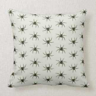 Spiders grey cushion