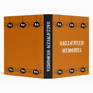 Spiders Halloween Memories Avery Binder