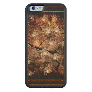 Spiders In Tree Stump Maple iPhone 6 Bumper