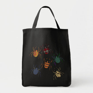 Spiders 'N Patterns Tote Bag