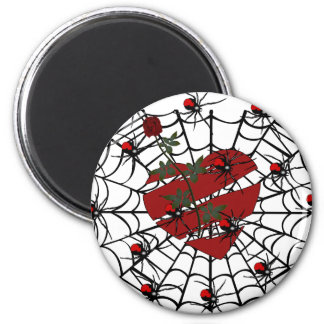 Spiders of Love Refrigerator Magnet