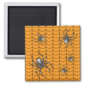 Spiders on Parade Magnet
