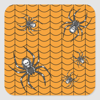 Spiders on Parade Sticker